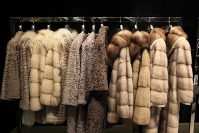Take a closer look at fox fur